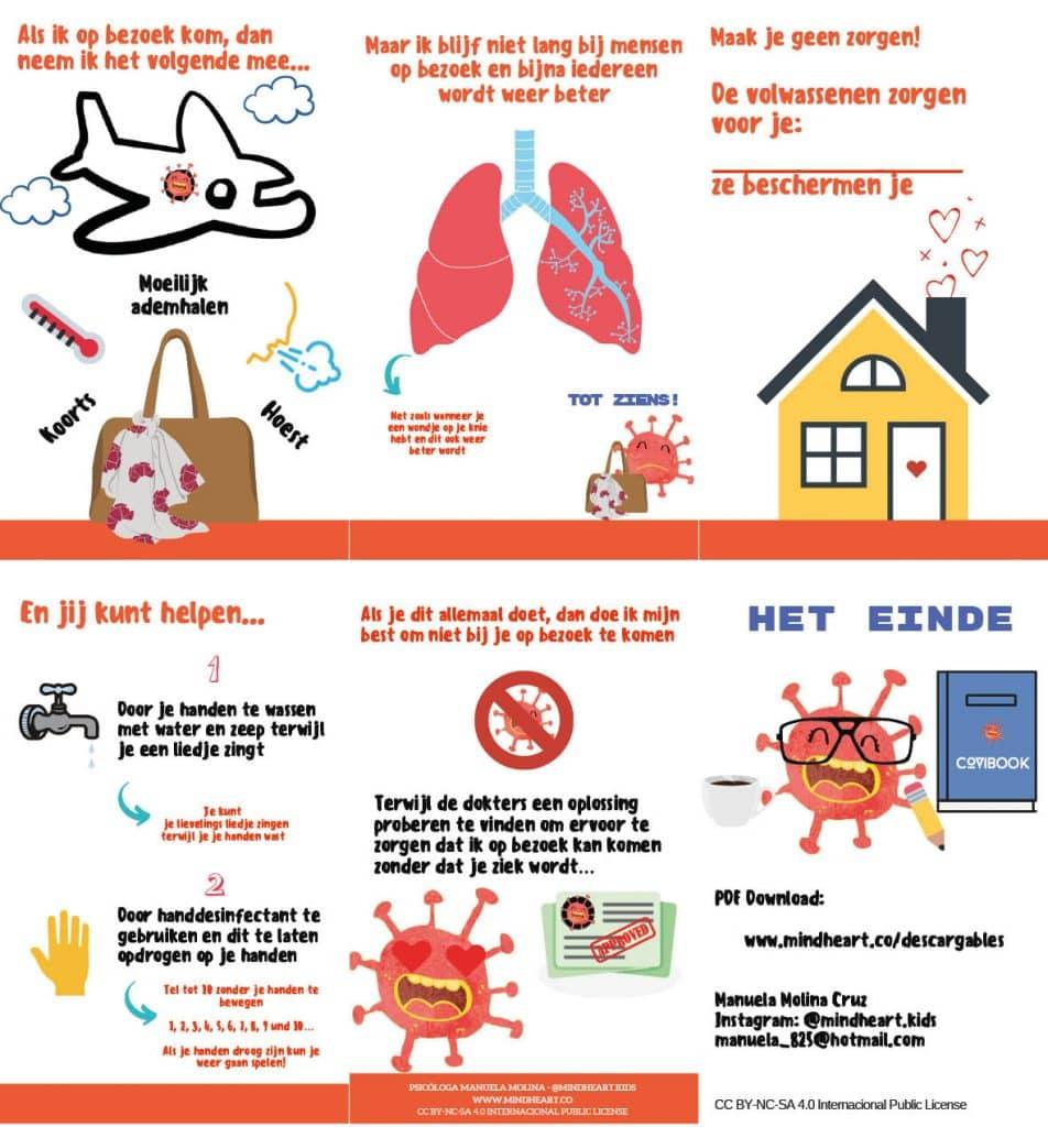 Corona uitleg voor kinderen afweerstoornissen